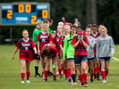 Sports Photographer of the Year Ben McKeown, Freelance The Parrott Academy girls soccer team leaves the field following a 2-0 loss to St. David's Academy in a state playoff game in Raleigh, N.C. on Tuesday, May 17, 2016.