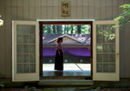 Sports Photographer of the Year Ben McKeown, Freelance Evelyn Minton, practices kyudo, a traditional form of Japanese archery at a range in Apex, N.C. on Saturday, Jun. 4, 2016.
