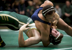 Sports Photographer of the Year Ben McKeown, Freelance Wrestlers from Cardinal Gibbons and Northern Durham High Schools compete in Raleigh, N.C. on Thursday, Jan. 28, 2016.