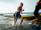 Sports Photographer of the Year Ben McKeown, Freelance Isabelle Rouleau, a student from Repentigny, Quebec, emerges from Jordan Lake after completing the swim portion of the Ironman 70.3 Raleigh triathlon in New Hope, N.C. on Sunday, June 5, 2016.