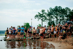 Sports Photographer of the Year Ben McKeown, Freelance Spectators and participants stand on the shore of Jordan Lake prior to the start of the Ironman 70.3 race in Raleigh, N.C. on Sunday, June 5, 2016.