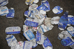 Sports POY: Runner UpEamon Queeney, North State Journal Smashed beer cans litter the infield at Charlotte Motor Speedway before the Coca-Cola 600, Sunday, May 29, 2016. Martin Truex Jr. made NASCAR history in his No. 78 Furniture Row Racing Toyota by leading more laps and more miles than any other driver in any race in NASCAR history while landing himself in Victory Lane.