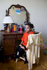 Zahiya sits in her room in her family home in Toronto.