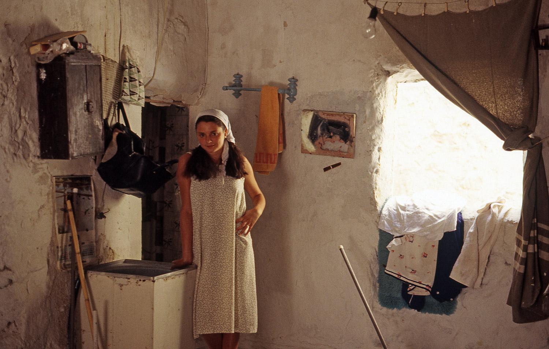 Pili in her House · Sorbas, Almería