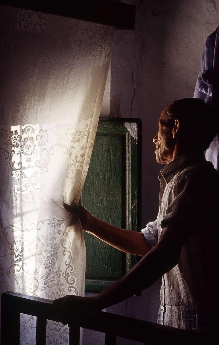 Cristobal at the Window · Sorbas, Almería