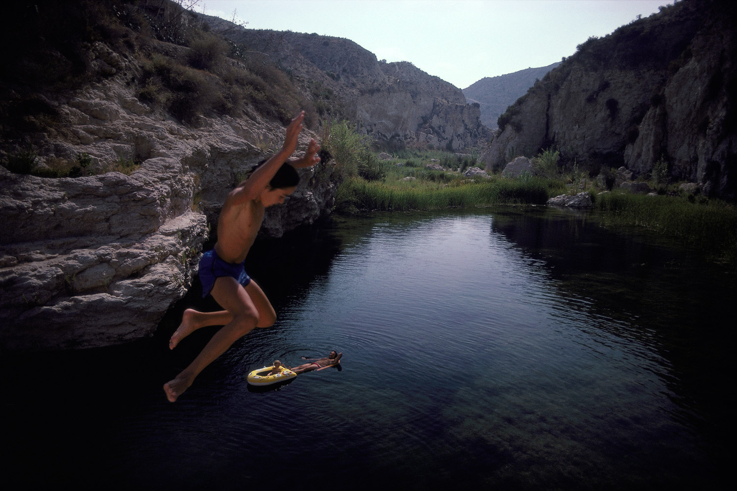 The Leap · Los Molinos del Rió Aguas