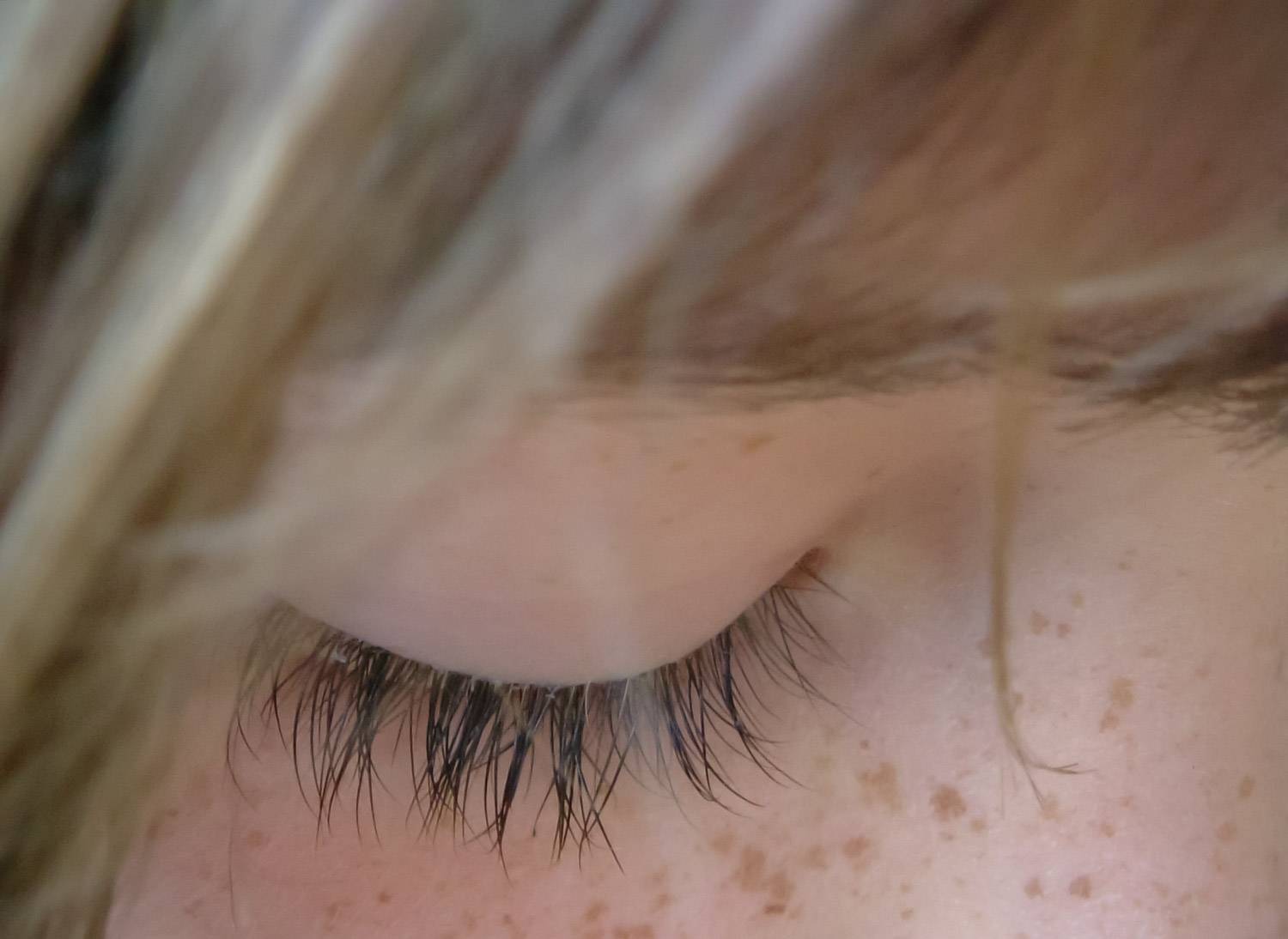 Eyelashes & Freckles