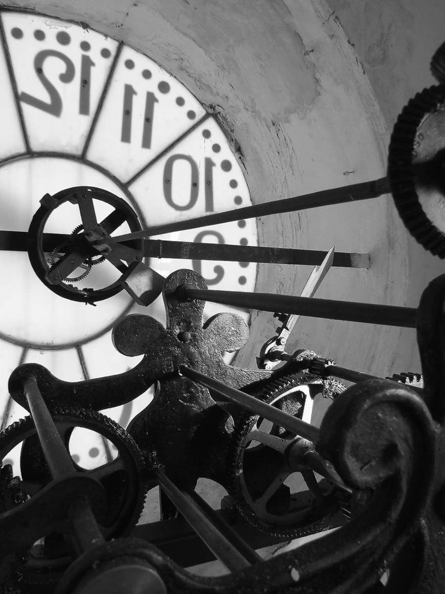 Clock Tower Machinery · Torres, Jaén