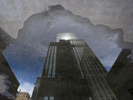 Time Life Rooftop Puddle · NYC