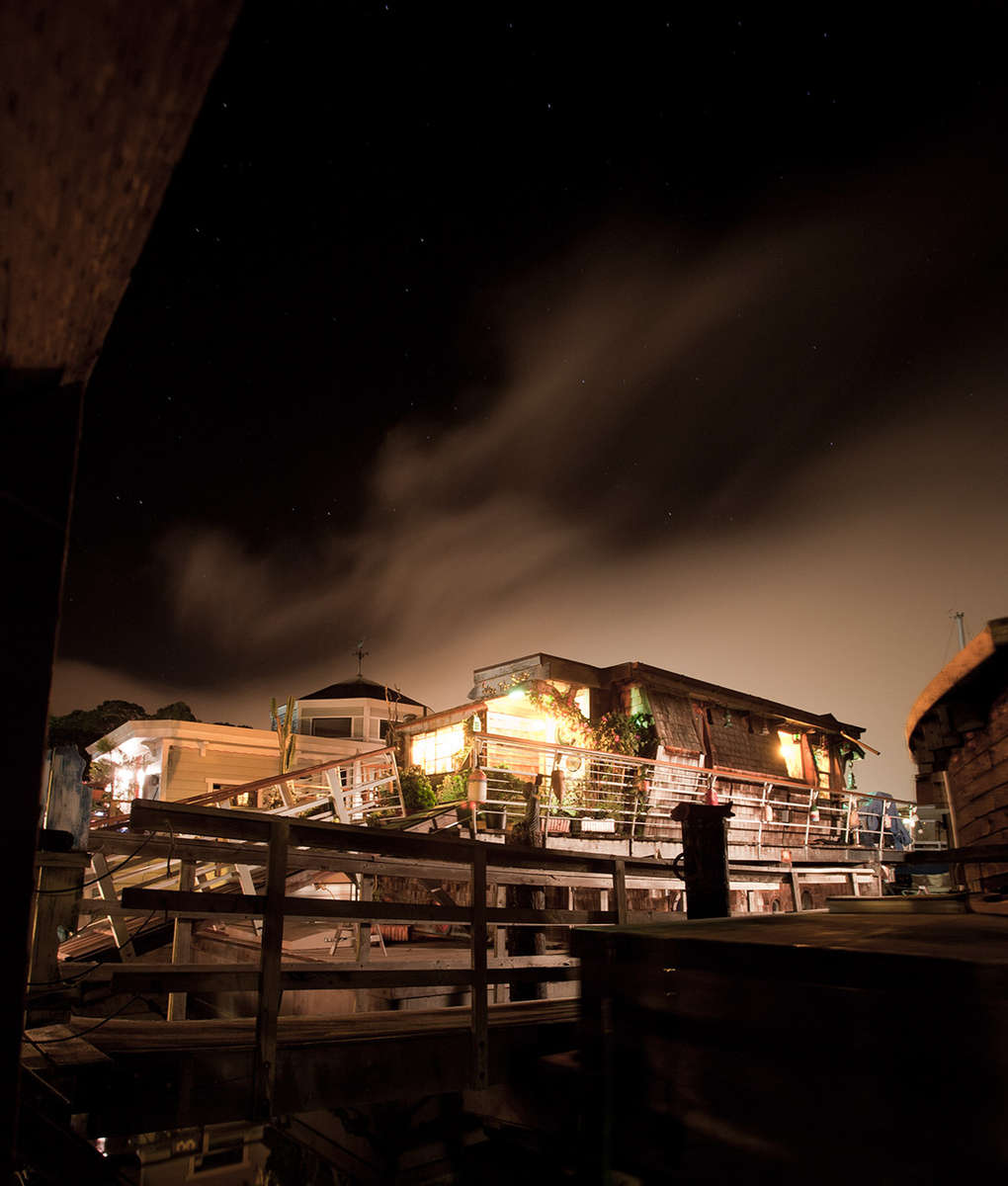 Houseboats & Fog #3 · Sausalito, CA