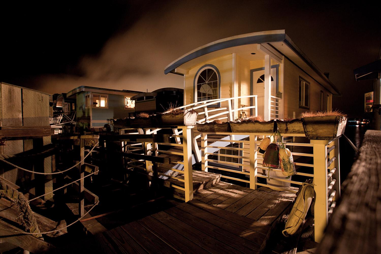 Houseboats & Fog #1 · Sausalito, CA