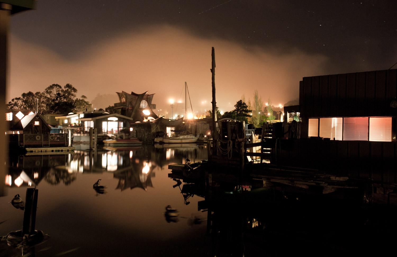 Houseboats & Fog #4 · Sausalito, CA