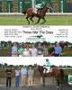 The Triple Photo contains the Finish, Lettering, Trophy Presentation and Winners Circle.  This is the standard photo sent to Groups at Monmouth Park.  Sizes available are 8x10, 11x14, 16x20 and 20x24.