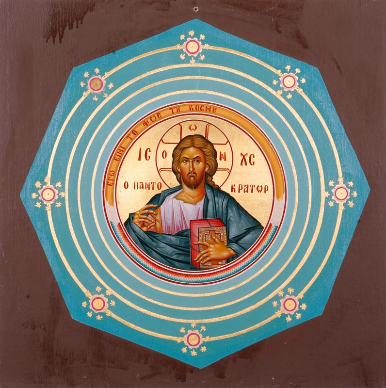 Mock-up of Jesus Christ, Pantokrator