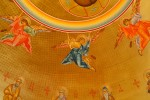 Angels and prophets surrounding Jesus Christ, Pantokrator