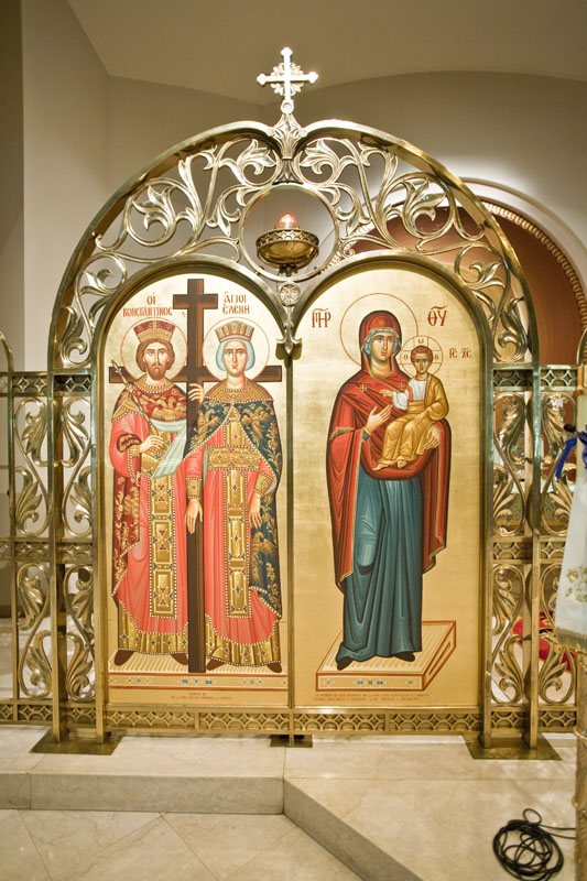 Ss. Constantine & Helen and the Theotokos