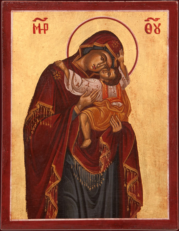 The Theotokos and Christ