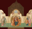 Triptych Featuring Christ and the Theotokos