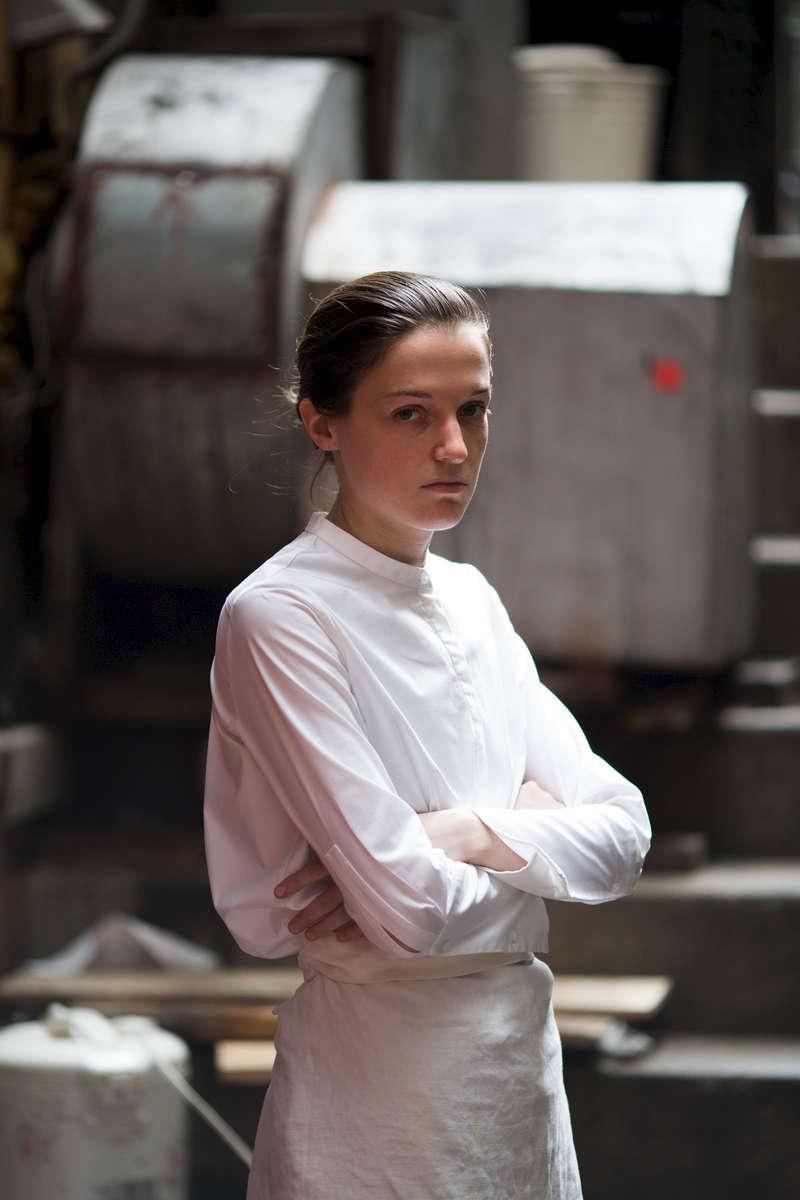 Liz Johnson, chef at SoHo restaurant Mimi in Manhattan, NY July 1, 2016.   (Kevin Hagen for The Wall Street Journal)