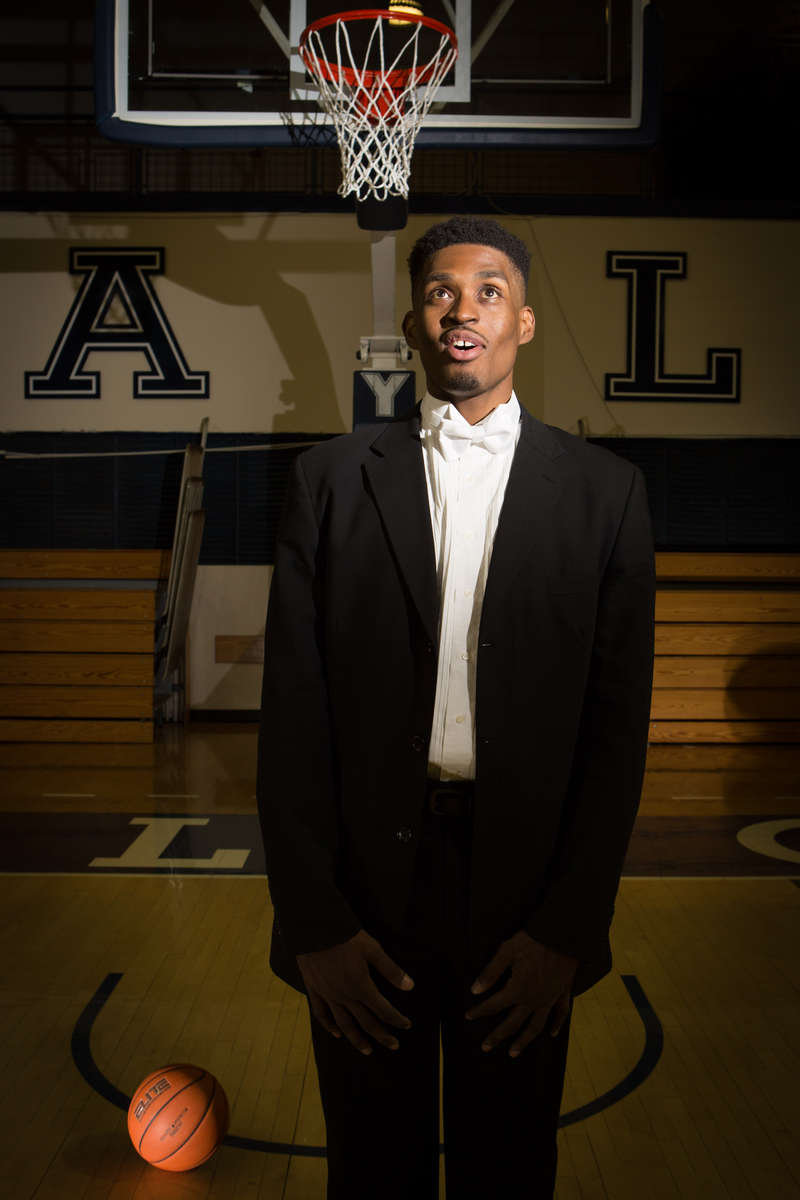 A member of the Yale basketball team and the singing group the Whiffenpoofs, Brandon Sherrod took a year off from his college education to go on a worldwide tour with the Whiffenpoofs.