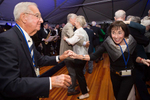 Members of the class of 1954 dance at their 60th reunion.Yale Alumni Magazine