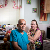 4thstnyc99 #eastfourth street's Building Superintendent, Gute and his wife Maritza in their basement apartment they share with their teenage son. Both from Puerto Rico, Gute and Maritza have been married 13 years and Gute has been the Super for 16 years.