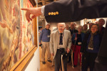 Touring the Yale Art Gallery at their 65th reunion at Yale University. Yale Alumni Magazine