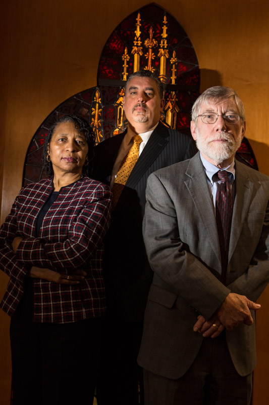 3 Chaplains photographed for Guideposts Magazine.
