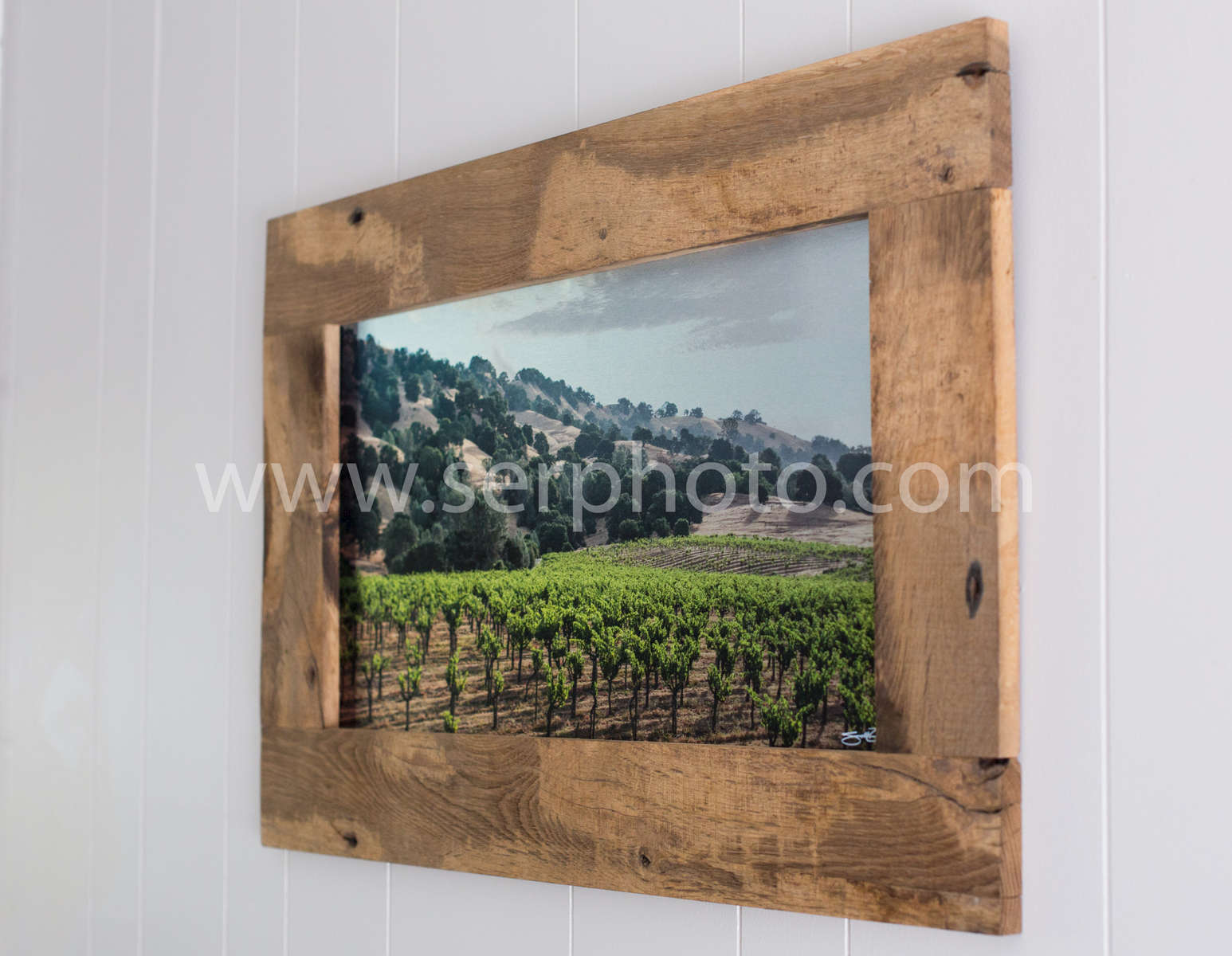 reclaimed french oak frame
