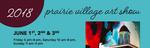 Prairie Village Art Showart fairJune1, 2, 3Friday 5-8Saturday 10-8Sunday 11-4Booth 56