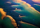 Photograph entitled Altered Kansas Flint Hills prairie