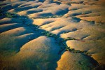 Photograph entitled Flint Hills watersheds