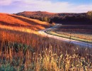 Photograph entitled Late fall, Kansas Flint Hills