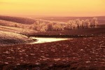 Photograph entitled Winter icing, Kansas Flint Hills