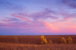 Photograph entitled Autumn Sky, Kansas Flint Hills