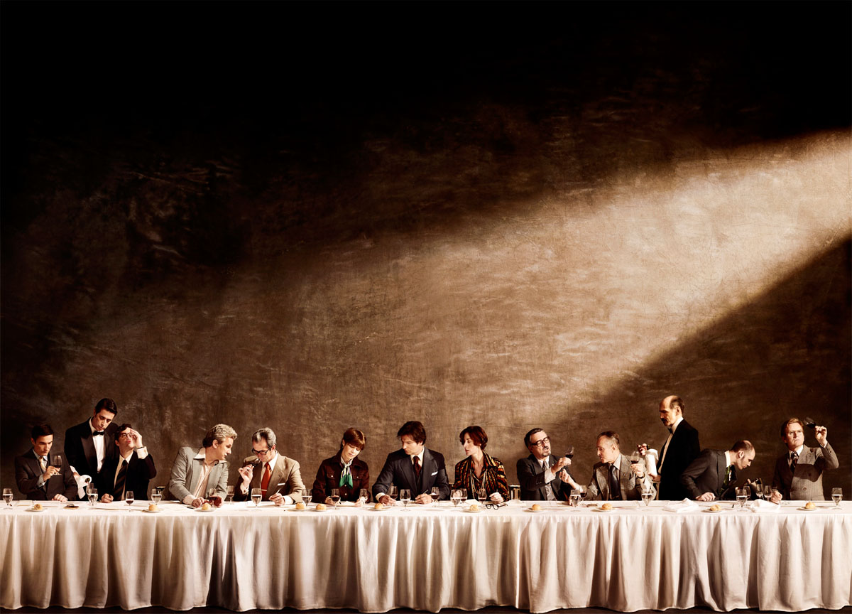 Judgement of Paris, 1976.  On Display in the San Francisco Museum of Modern Art.  Printed 18'x25'.  Commissioned and Art Directed by Diller, Scofidio + Renfro NYC.