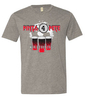 The American Apparel Unisex Fine Jersey Tee with 3 color graphic. As low as $7.00.