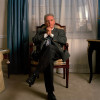 Classical Music conductor and pianist Daniel Borenboim photographed in a Eastside Manhattan Hotel. Cooyright The New York Times