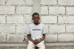 01-25-10  Port Au Prince, Haiti - Deskl: FOR - Slug: - ORPHANS  -  Jocelyn Jeansanon, 14. - Ozier Muhammad/The New York Times