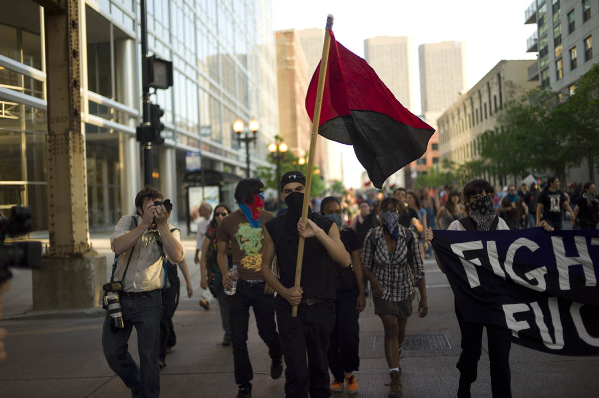 Chicago -  NATO protest.