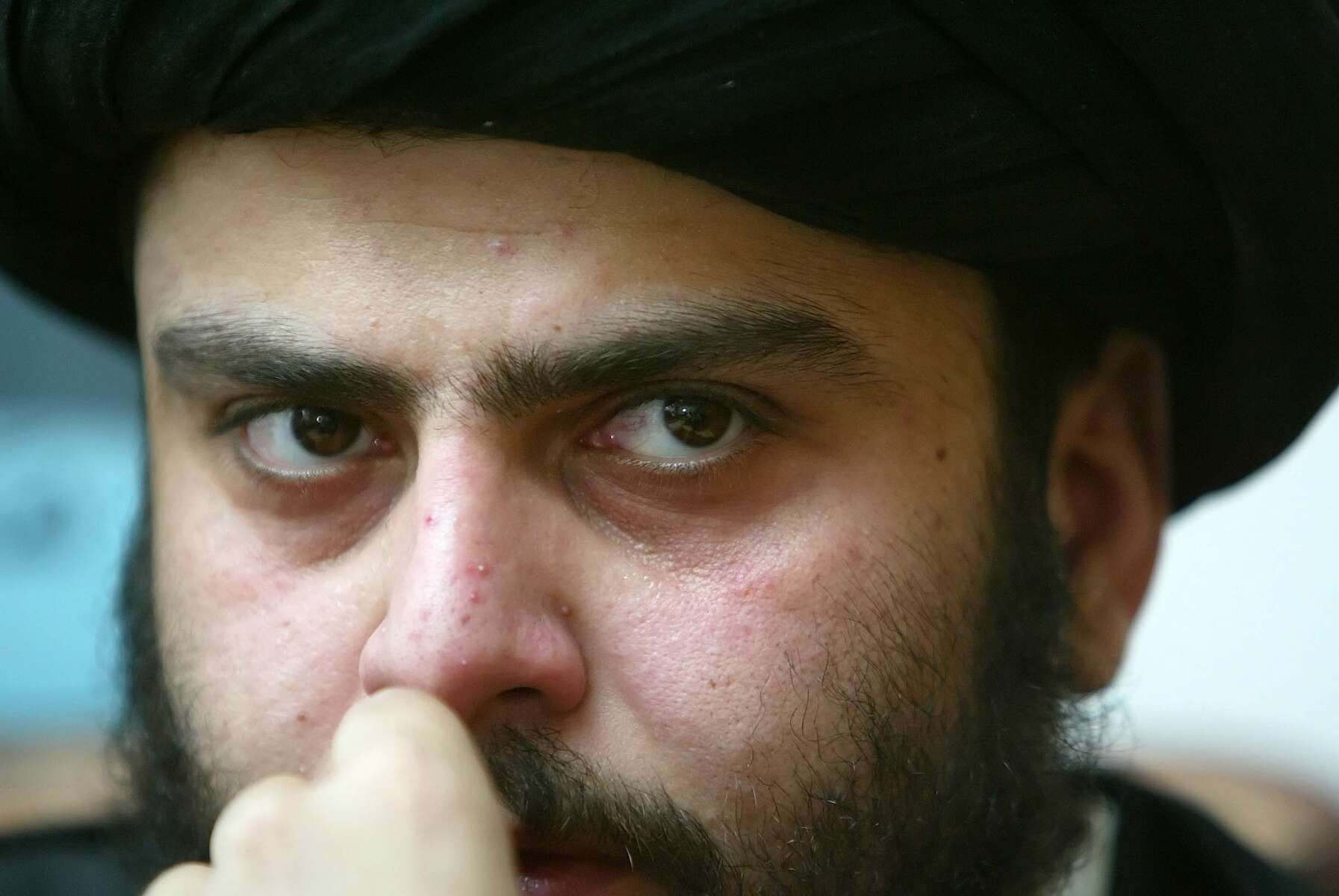 Najaf, Iraq - Muqtada al-Sadr, a shite clerical leader has tremendous influence among the predominantly Shia Islamic community of Iraq. - Ozier Muhammad / NYT