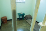07-05-2013 - This is Mr. Mandela's cell which he occupied for almost 20 years.