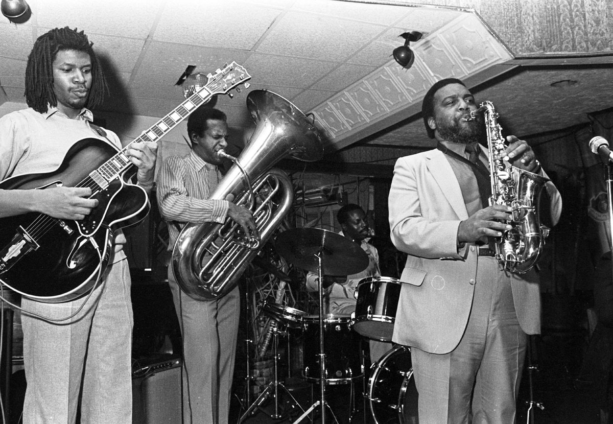 Arthur Blythe performing in New York City, circa 1984.