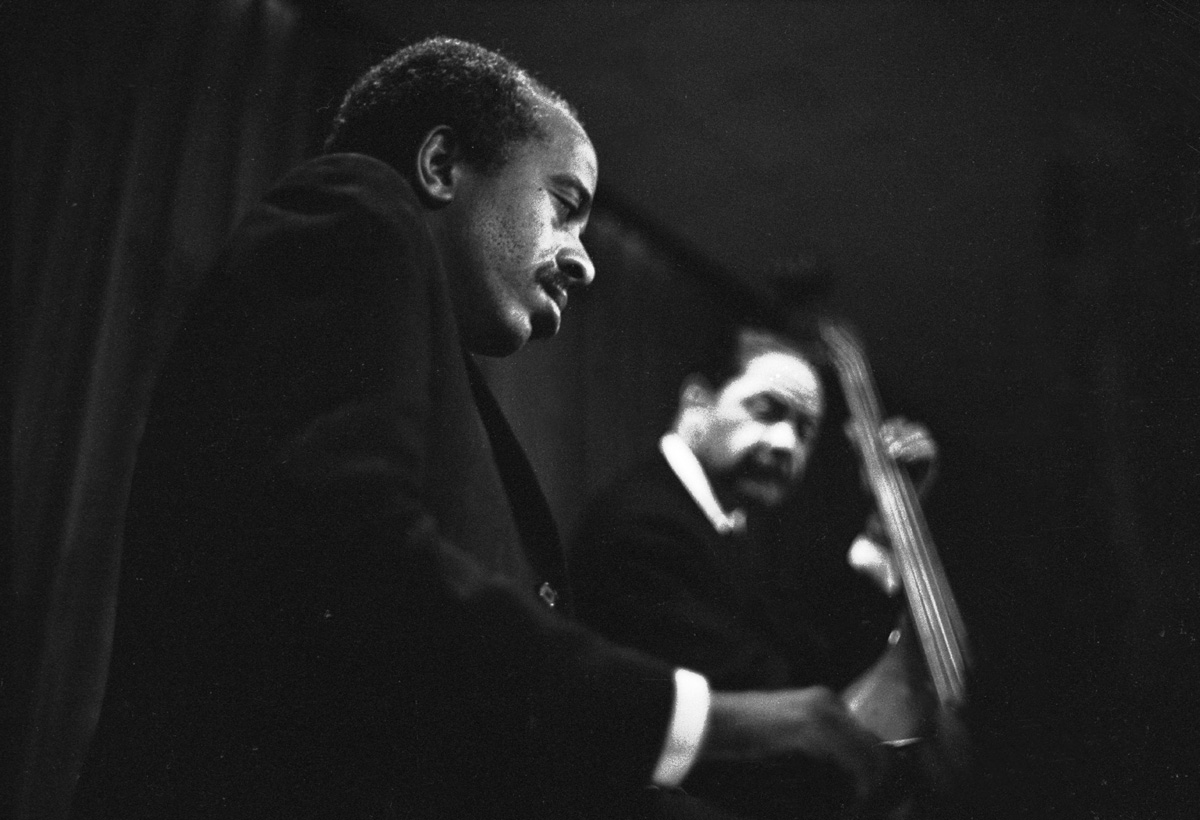Jazz pianist Barry Harris performing at the Jazz Showcase, circa 1969.