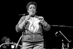 New York City - Carmen McRae, circa 1984.