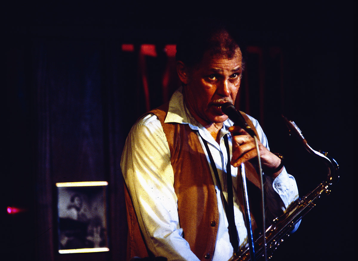 New York City - Dexter Gordon @ Carlos II, Circa 1984
