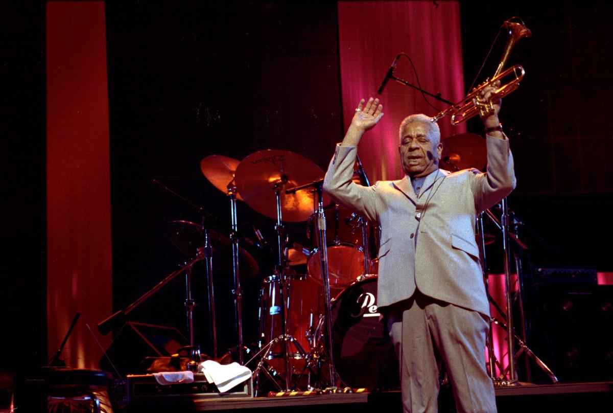 Harlem, NY - Dizzy Gillerspie @ The Apollo , circa 1990/