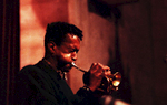 Cornetist Don Cherry performs in Riverside Church with Dewey Redman and others.