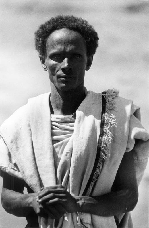 Muhammad Afar, a tribal chief, worries about the fate of his people in a dislocation camp in the Ogaden.