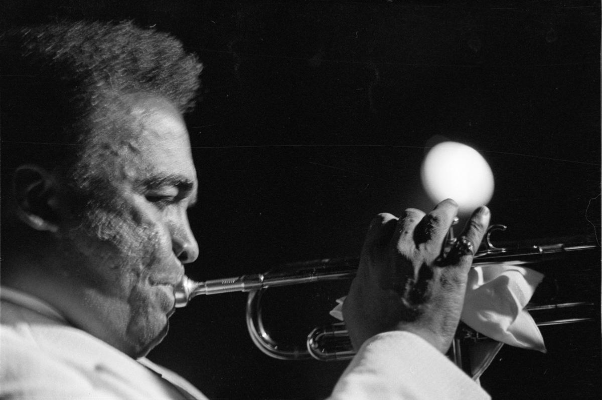 Howard McGhee at the Jazz Showcase, Chicago, 1974.